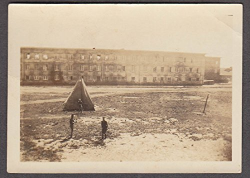 (35th Infantry Barracks & tent Schofield Hawaiian Islands snapshot ca 1915)