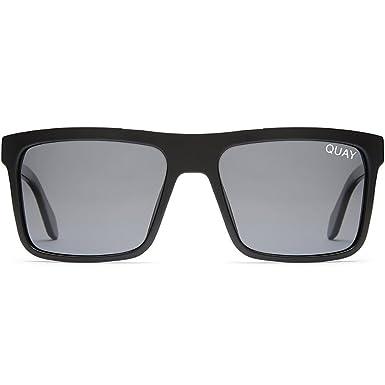 eb999e704d Amazon.com  Quay Australia Let It Run Sunglasses in Black Smoke ...