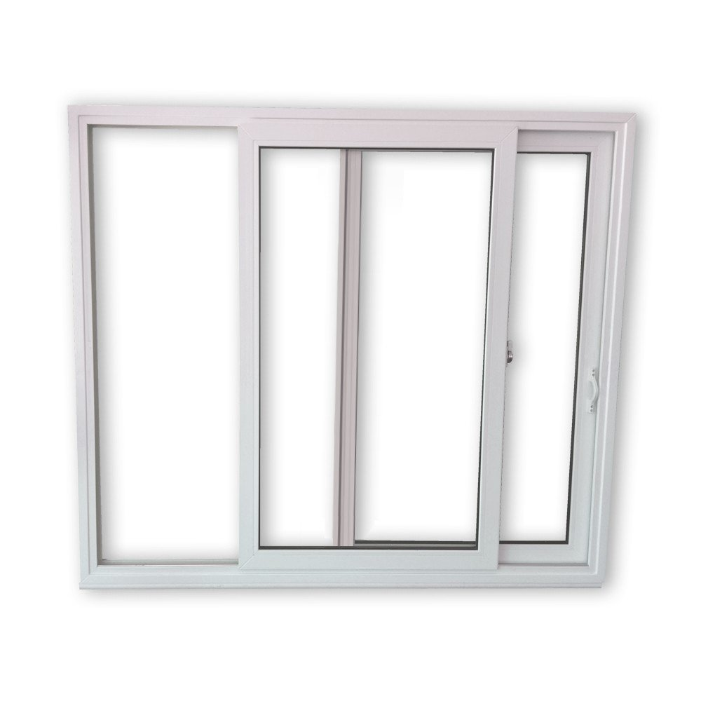 Schiebefenster SFS - 2-fach-Verglasung - 2-flü gelig - BxH: 1700x1300 mm - Beide Seiten zum ö ffnen werkzeugbilligercom