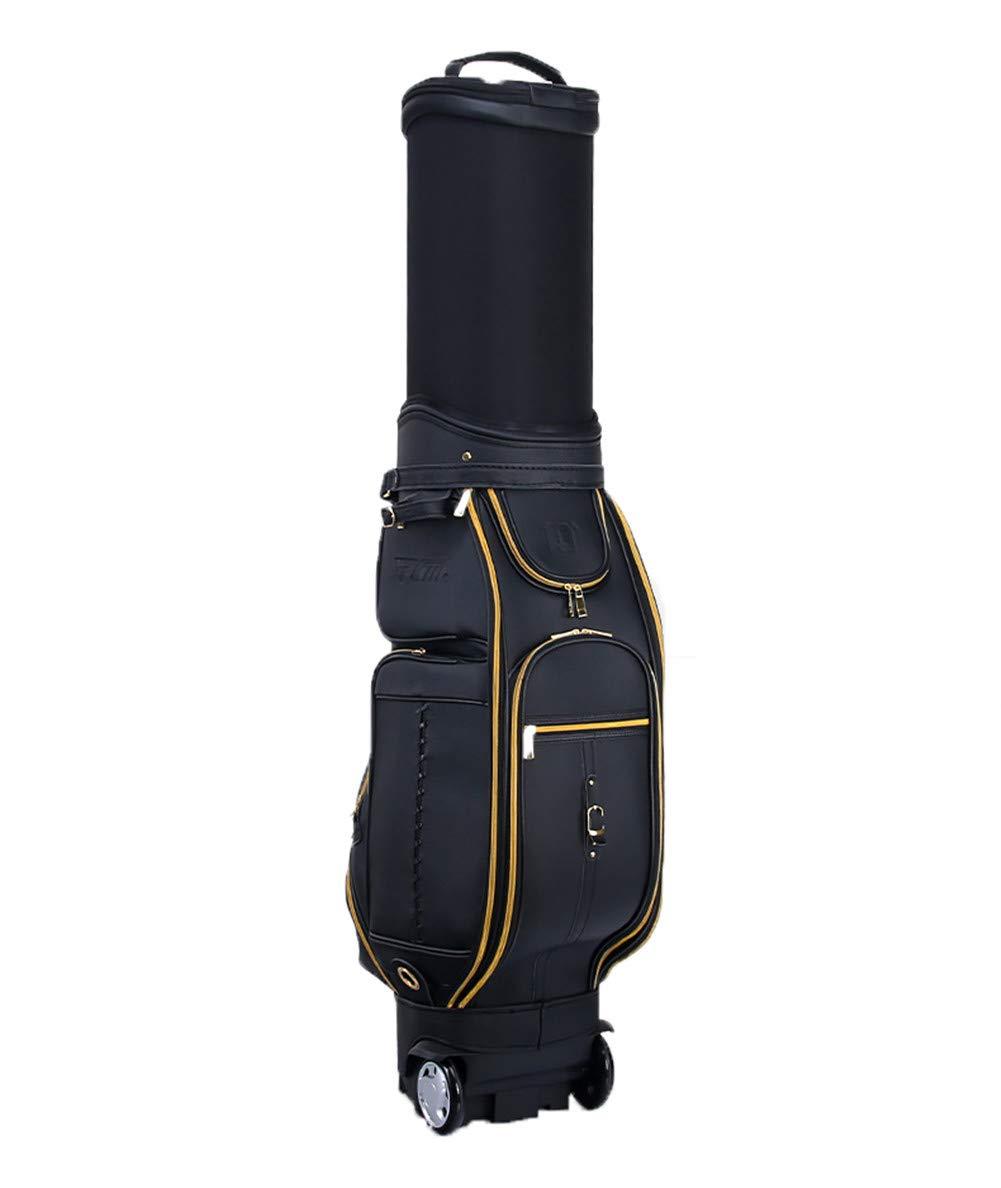ゴルフクラブバッグウェイカートトロリーバッグカート防水素材とドライポケットシリーズゴルフトロリーカートバッグ B07K5BDHK3 A
