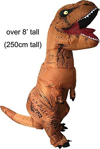 GoPrime T Rex Costume, Dino Theme Party Dress, Dinosaur Suit