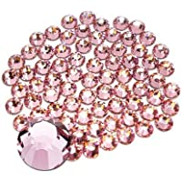 Jollin Glue Fix Flatback Rhinestones Glass Diamantes Gems For Nail Art Crafts Decorations Clothes Shoes 4.8mm (SS20…