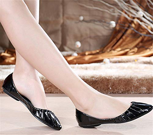and work European shoes leisure soft bottom shallow breathable shoes pointed comfortable C shoes maternity shoes FLYRCX single mouth non flat slip UEqTdUwc