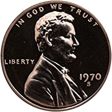 1970 S Gem Proof Lincoln Memorial Cent Penny Proof US Mint