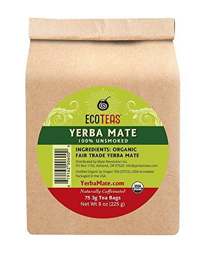 ECOTEAS Organic Unsmoked Yerba Energy product image