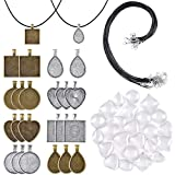 PP OPOUNT 60 Pieces Pendant Trays Set including 8