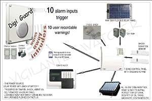 AG9 - talla/gas/Farm/aceite INTRUDER alarma GSM SOLAR/funciona con energía SOLAR aceite cubo de almacenamiento ANTI-THEFT sistema de alerta