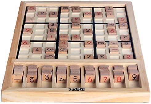 Madera Sudoku Juegos de mesa SD-01: Amazon.es: Juguetes y juegos