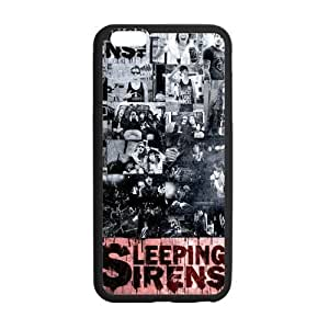 Customize TPU Gel Skin Case Cover for iphone 6+, iphone 6 plus Cover (5.5 inch), Sleeping With Sirens Kimberly Kurzendoerfer