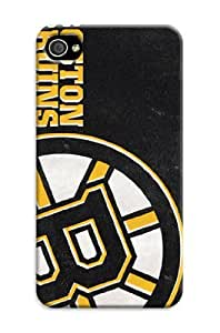 iphone 4 4s Protective Case,Beautiful Hockey iphone 4 4s Case/Boston Bruins Designed iphone 4 4s Hard Case/Nhl Hard Case Cover Skin for iphone 4 4s
