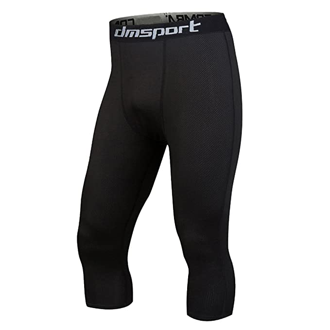 Men/'s Sports Compression Wear Under Base Layer Cool Dry Shorts Pants Tights