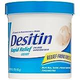 Desitin baby diaper rash creamy rapid itch relief cream - 16 Oz