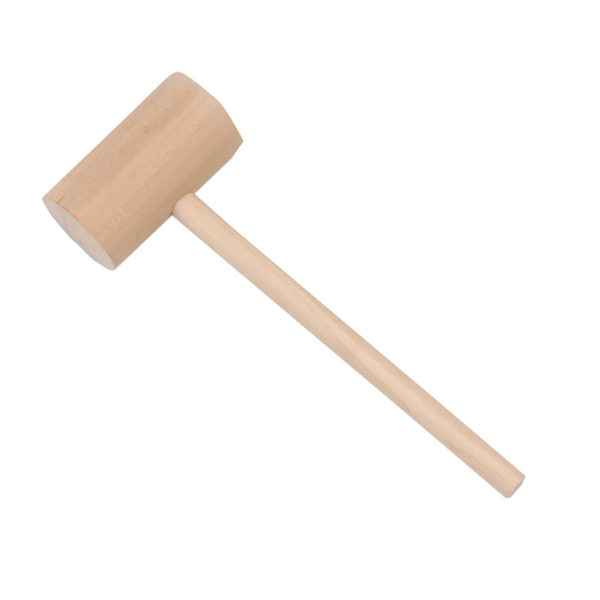 BESTONZON Seafood Crab Mallets,Natural Hardwood,Wooden Double Side Meat Tenderize,Set of 4
