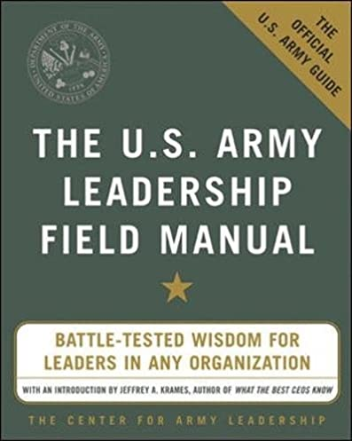 amazon com the u s army leadership field manual 0639785387121 rh amazon com ADP iPayStatements Army AR List