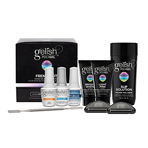 Gelish PolyGel Professional Nail Technician All-in-One Enhancement French Kit by Gelish