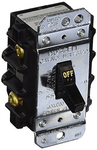 Hubbell Disconnect Switch - Hubbell HBL7842D 40 amp 600V 2 Phase Disconnect Switch