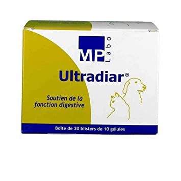 ultradiar Diarrea perro gato - 20 x 10 Gel: Amazon.es: Productos para mascotas