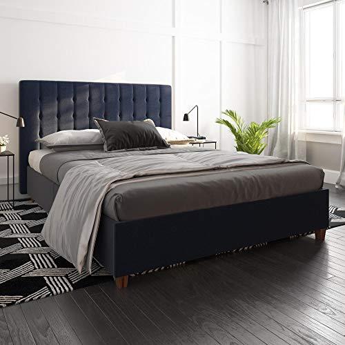 emily upholstered bed