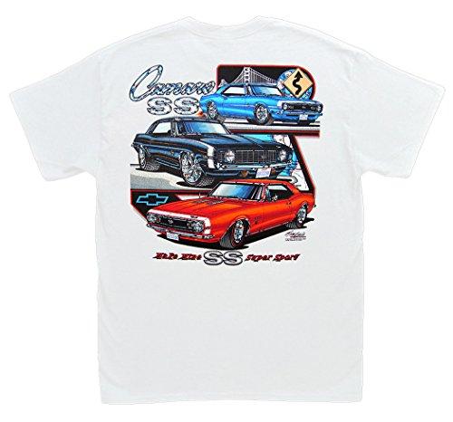 Yenko Camaro (Hot Shirts Make Mine SS/Camaro T-Shirt: XL - Z/28 RS Chevrolet Chevy ZL1 67 68 69)