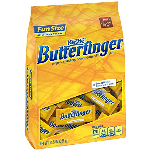 Butterfinger Fun Size Bag 11.5oz - Pack of 6 -