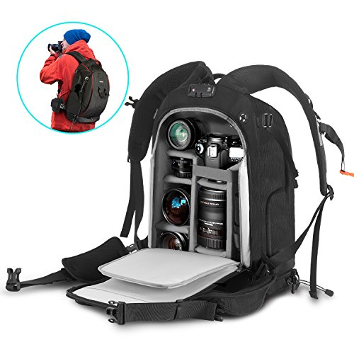 """Camera Backpack 21"""" x 15"""" x 9"""" Camera Bag with ..."""