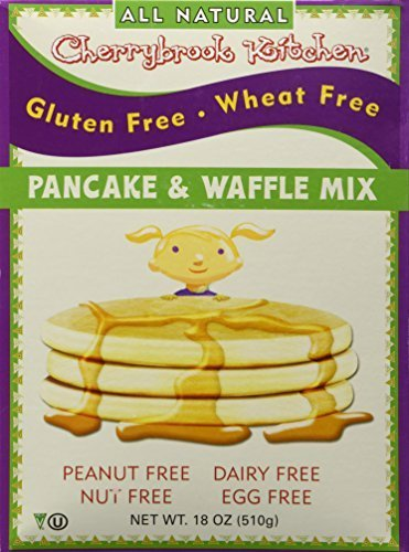 Kitchen Gluten Free Cherrybrook (Cherrybrook Kitchen Gluten Free Dreams Pancake and Waffle Mix -- 18 oz by Cherrybrook Kitchen)