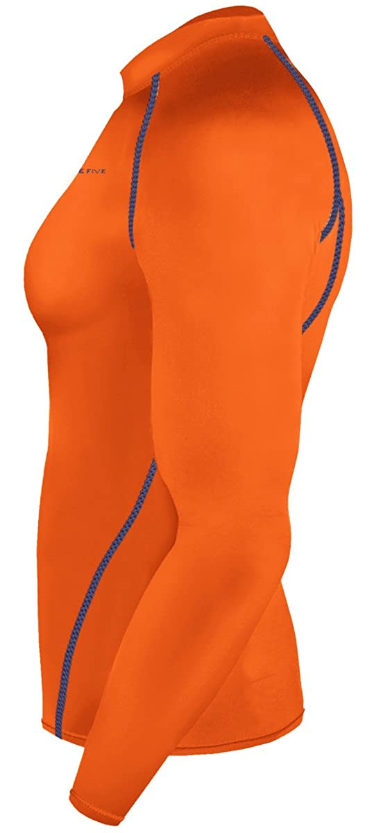 New Men Sports Apparel Long Sleeves Shirts Skin Tights Compression Base Under Layer Top