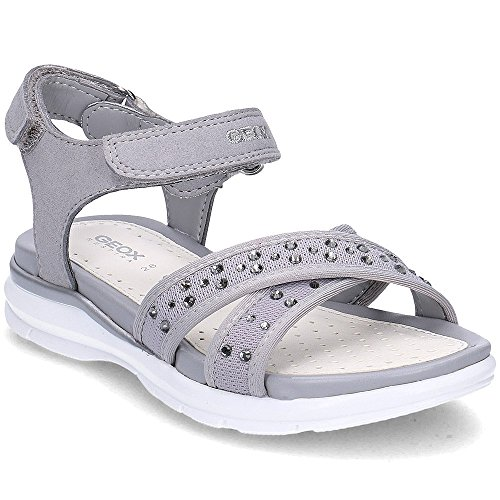 Geox Junior Sand Sukie - J720VC011AUC1006 - Color Grey - Size: 10.5 by Geox