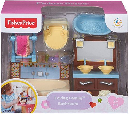 toys & games, baby & toddler toys,  sorting & stacking toys  on sale, Fisher-Price Loving Family Bathroom Playset promotion3