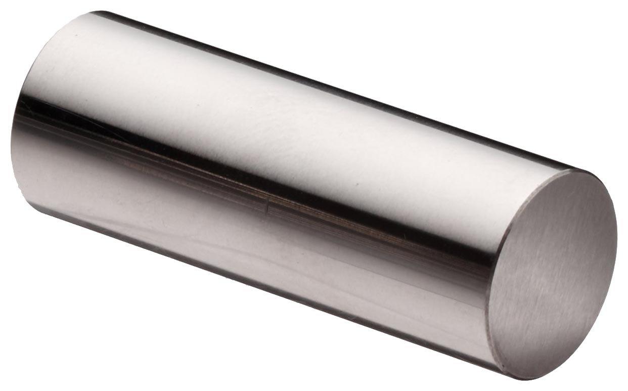Vermont Gage Steel No-Go Plug Gage, Tolerance Class ZZ, 19.64mm Gage Diameter