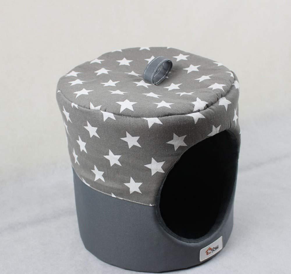 Cuccia per Cani per Cani Cuccia Creativa per Cani yurta cilindrica Teddy oroen Retriever Cuccia per Cani di Piccola Taglia b