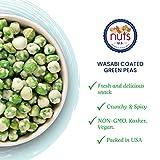 NUTS U.S. - Wasabi Coated Green Peas, Crunchy