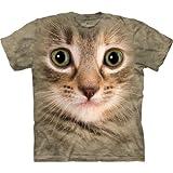 The Mountain Kitten Face T-Shirt, XX-Large, Sand