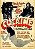 Vintage Cocaine Propaganda Wall Poster Print|12 X 18 In Poster|KCP22