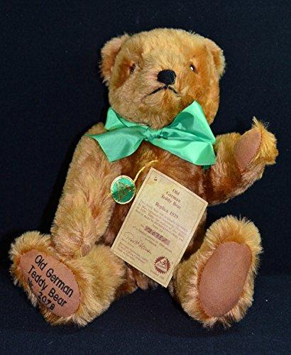 Gold Mohair Bear - 7