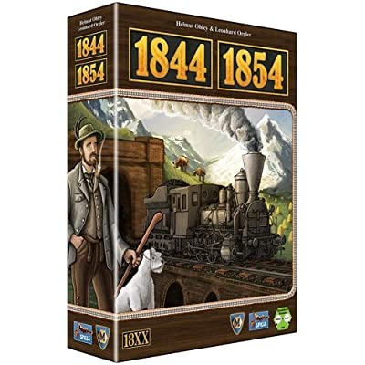 1844/54 Switzerland and Austria Board Game: Toys & Games