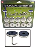 Magnet & Hook Set 10pc