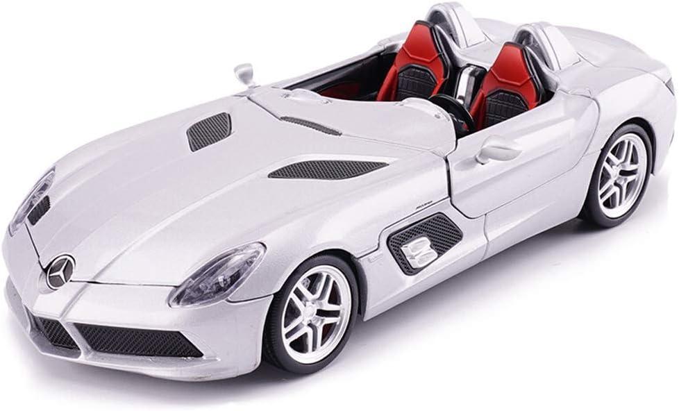 ZY Modelo de automóvil Mercedes - Mercedes-Benz Modelo de simulación de uno y veinticuatro de fundición a presión de aleación de Juguete Modelo de Coche estática 20x8x3.5CM LOLDF1