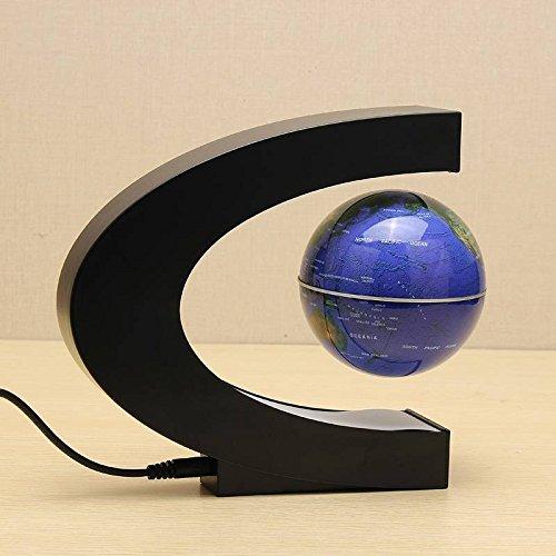 Frontier C Form Magnetschwebetechnik Schwebender Globus Weltkarte Mit LED Beleuchtung