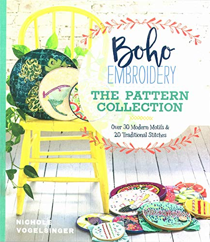 Boho Embroidery The Pattern Collection Over 30 Modern Motifs 20