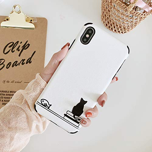 3D Emboss Cartoon Patterned Phone Case Cat B Simple Style Non Slip Embossed Craft Flexible Soft Non Faded Durable Coloring Phone Case for Oppo R11S