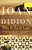 Play It As It Lays by Joan Didion front cover