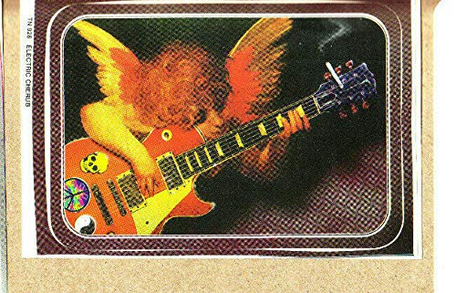 New Cherub - Sticker - Angel With Guitar And Wings - Electric Cherub - Licensed New