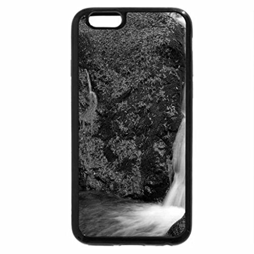 iPhone 6S Case, iPhone 6 Case (Black & White) - Double waterfall