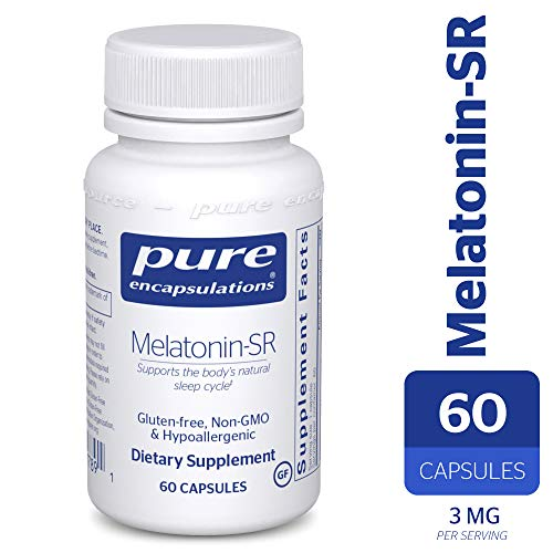 - Pure Encapsulations - Melatonin-SR - Sustained Release Hormone to Regulate The Body's Circadian Rhythm, Endocrine Secretions, and Natural Sleep/Wake Cycle* - 60 Capsules