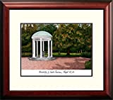 North Carolina Tarheels UNC Framed Lithograph Print