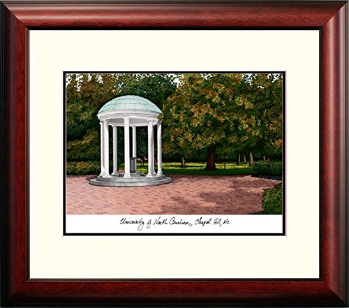 North Carolina Tarheels UNC Framed Lithograph Print by Landmark Publishing