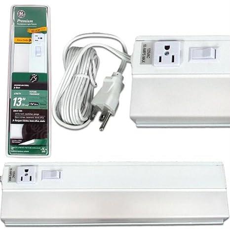 Ge Preimum Fluorescent Ucf Plug In Light Fixture 13 In