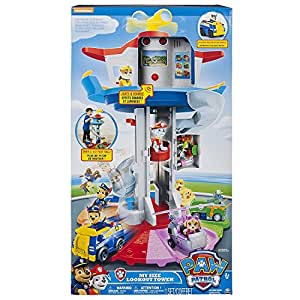 Nickelodeon Paw Patrol – My Size Lookout Tower with Exclusive Vehicle, Rotating Periscope and Lights and Sounds