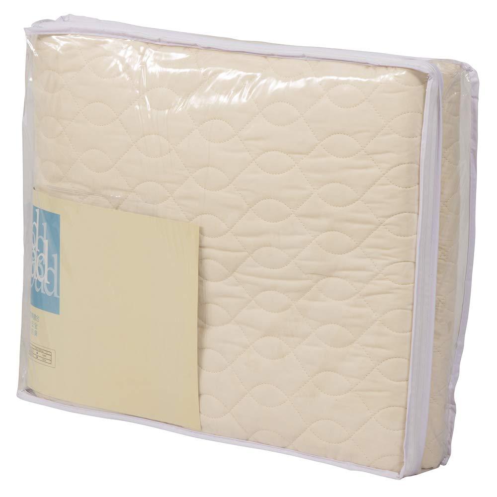 IDC OTSUKA(大塚家具) ベッドパッド コティー2 ホワイト クイーン 固定ゴム付 B07CLZS9JH  クイーン